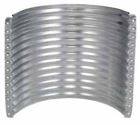 Area Walls 18 Gauge Round   Commercial Grade   ARC Style