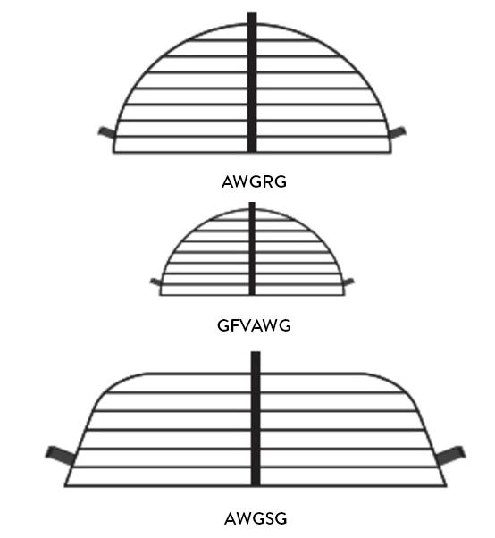 Area Wall Grates | Standard Width